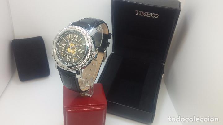 Relojes automáticos: Reloj Skeleton automatic, de caballero, seminuevo, muy bello. - Foto 52 - 101949063