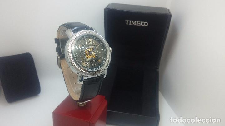 Relojes automáticos: Reloj Skeleton automatic, de caballero, seminuevo, muy bello. - Foto 54 - 101949063