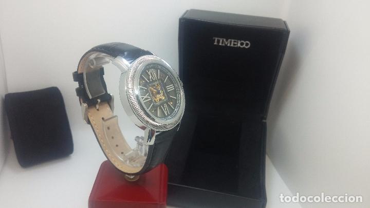 Relojes automáticos: Reloj Skeleton automatic, de caballero, seminuevo, muy bello. - Foto 55 - 101949063