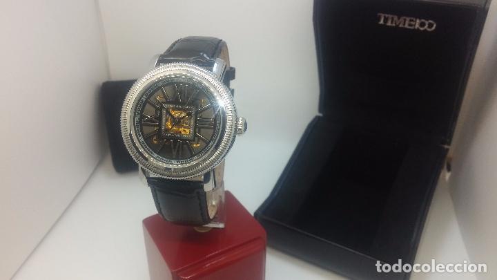 Relojes automáticos: Reloj Skeleton automatic, de caballero, seminuevo, muy bello. - Foto 56 - 101949063