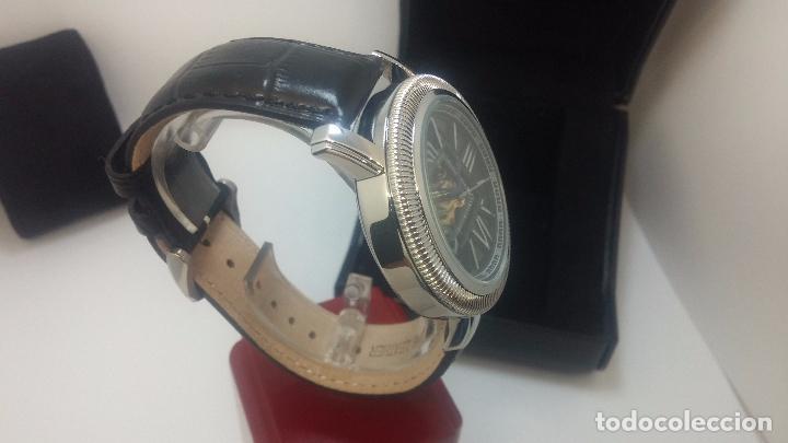 Relojes automáticos: Reloj Skeleton automatic, de caballero, seminuevo, muy bello. - Foto 59 - 101949063