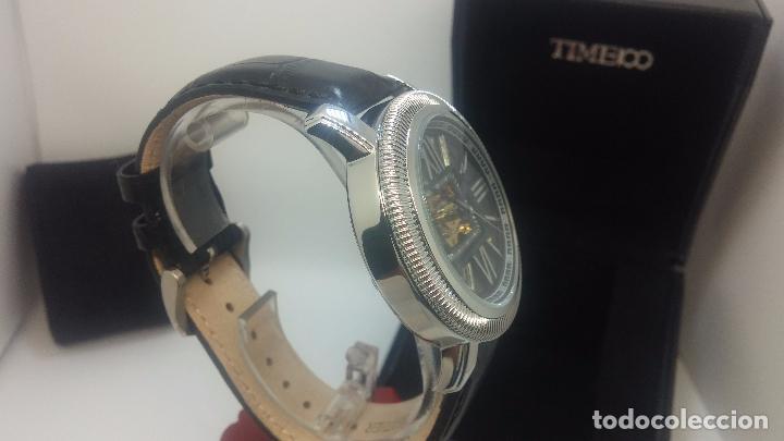 Relojes automáticos: Reloj Skeleton automatic, de caballero, seminuevo, muy bello. - Foto 60 - 101949063