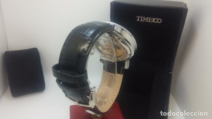 Relojes automáticos: Reloj Skeleton automatic, de caballero, seminuevo, muy bello. - Foto 63 - 101949063