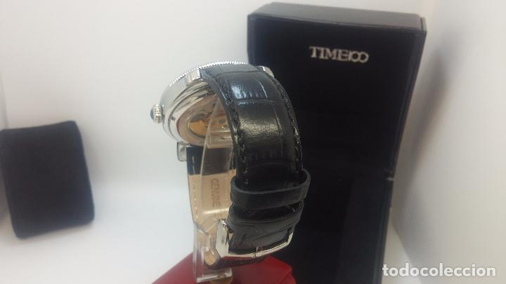 Relojes automáticos: Reloj Skeleton automatic, de caballero, seminuevo, muy bello. - Foto 64 - 101949063