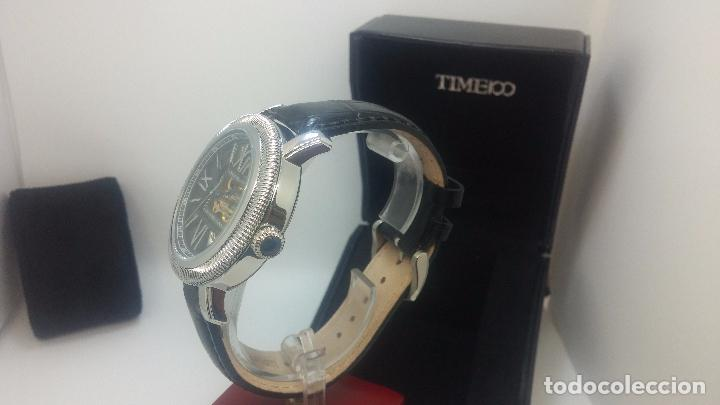 Relojes automáticos: Reloj Skeleton automatic, de caballero, seminuevo, muy bello. - Foto 66 - 101949063