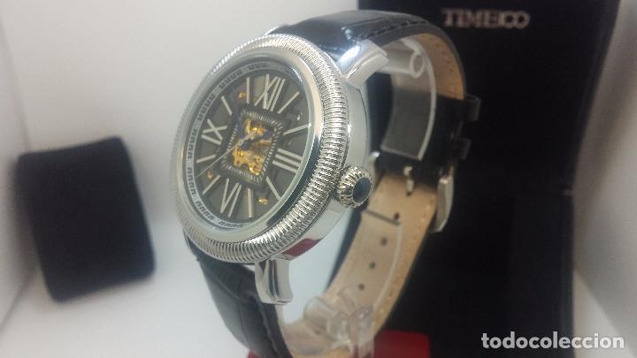 Relojes automáticos: Reloj Skeleton automatic, de caballero, seminuevo, muy bello. - Foto 67 - 101949063