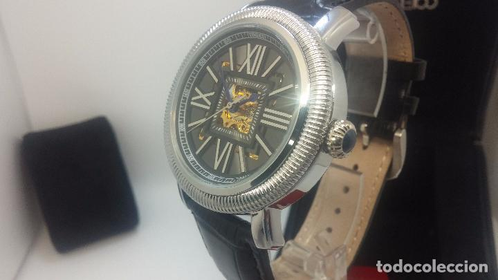 Relojes automáticos: Reloj Skeleton automatic, de caballero, seminuevo, muy bello. - Foto 68 - 101949063