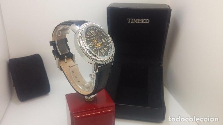 Relojes automáticos: Reloj Skeleton automatic, de caballero, seminuevo, muy bello. - Foto 70 - 101949063