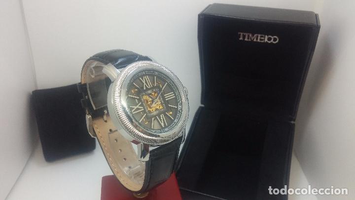 Relojes automáticos: Reloj Skeleton automatic, de caballero, seminuevo, muy bello. - Foto 72 - 101949063