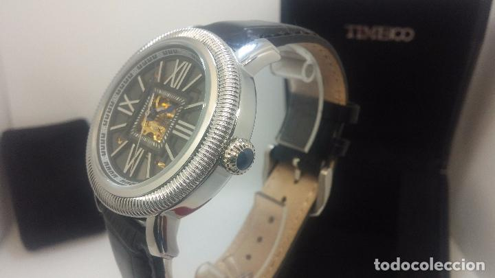 Relojes automáticos: Reloj Skeleton automatic, de caballero, seminuevo, muy bello. - Foto 73 - 101949063