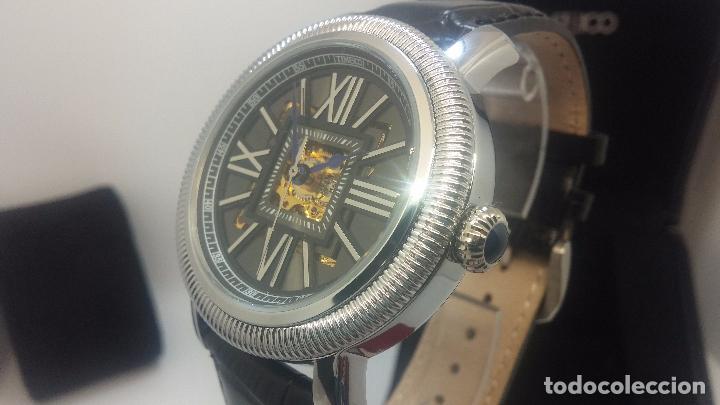 Relojes automáticos: Reloj Skeleton automatic, de caballero, seminuevo, muy bello. - Foto 74 - 101949063