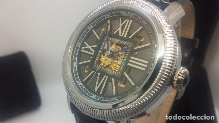 Relojes automáticos: Reloj Skeleton automatic, de caballero, seminuevo, muy bello. - Foto 75 - 101949063