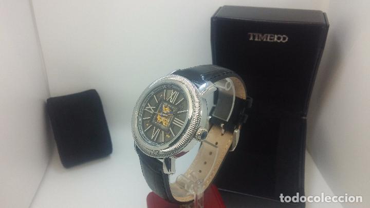 Relojes automáticos: Reloj Skeleton automatic, de caballero, seminuevo, muy bello. - Foto 76 - 101949063