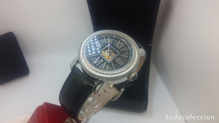 Relojes automáticos: Reloj Skeleton automatic, de caballero, seminuevo, muy bello. - Foto 77 - 101949063