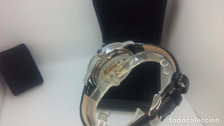 Relojes automáticos: Reloj Skeleton automatic, de caballero, seminuevo, muy bello. - Foto 79 - 101949063