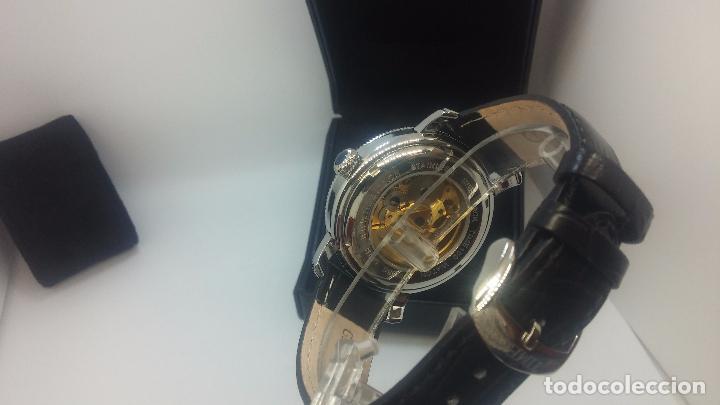 Relojes automáticos: Reloj Skeleton automatic, de caballero, seminuevo, muy bello. - Foto 80 - 101949063