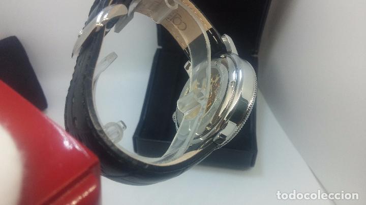 Relojes automáticos: Reloj Skeleton automatic, de caballero, seminuevo, muy bello. - Foto 82 - 101949063