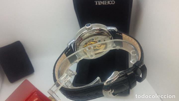 Relojes automáticos: Reloj Skeleton automatic, de caballero, seminuevo, muy bello. - Foto 86 - 101949063