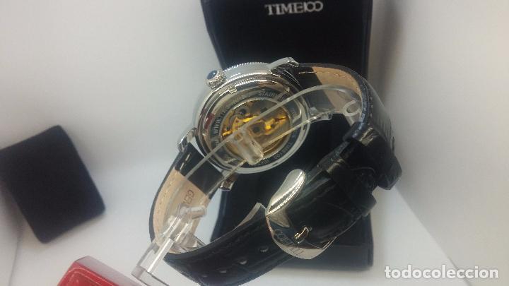 Relojes automáticos: Reloj Skeleton automatic, de caballero, seminuevo, muy bello. - Foto 87 - 101949063