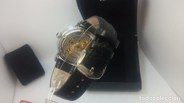 Relojes automáticos: Reloj Skeleton automatic, de caballero, seminuevo, muy bello. - Foto 88 - 101949063