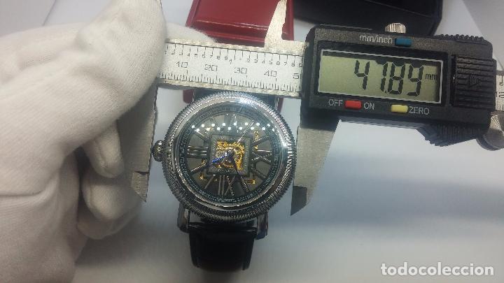 Relojes automáticos: Reloj Skeleton automatic, de caballero, seminuevo, muy bello. - Foto 89 - 101949063