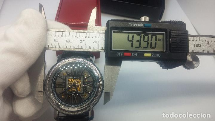 Relojes automáticos: Reloj Skeleton automatic, de caballero, seminuevo, muy bello. - Foto 90 - 101949063