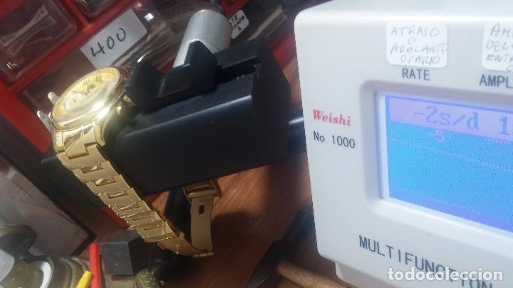 Relojes automáticos: Reloj automatico de caballero Astronomy de Lancoste, seminuevo, dos puestas - Foto 6 - 101950579