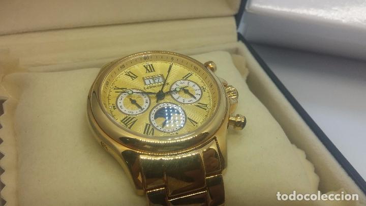 Relojes automáticos: Reloj automatico de caballero Astronomy de Lancoste, seminuevo, dos puestas - Foto 13 - 101950579