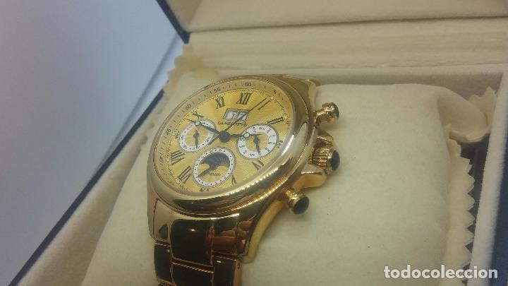 Relojes automáticos: Reloj automatico de caballero Astronomy de Lancoste, seminuevo, dos puestas - Foto 14 - 101950579