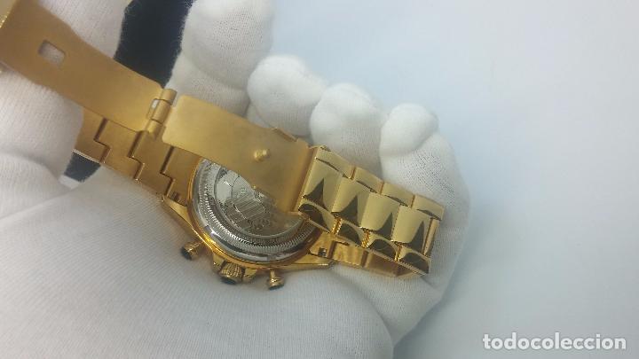 Relojes automáticos: Reloj automatico de caballero Astronomy de Lancoste, seminuevo, dos puestas - Foto 17 - 101950579