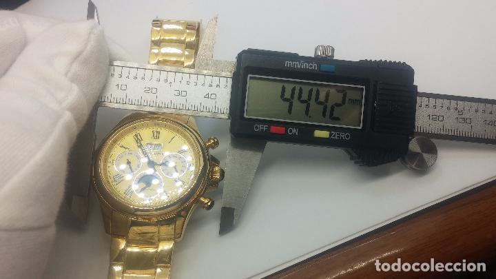 Relojes automáticos: Reloj automatico de caballero Astronomy de Lancoste, seminuevo, dos puestas - Foto 19 - 101950579