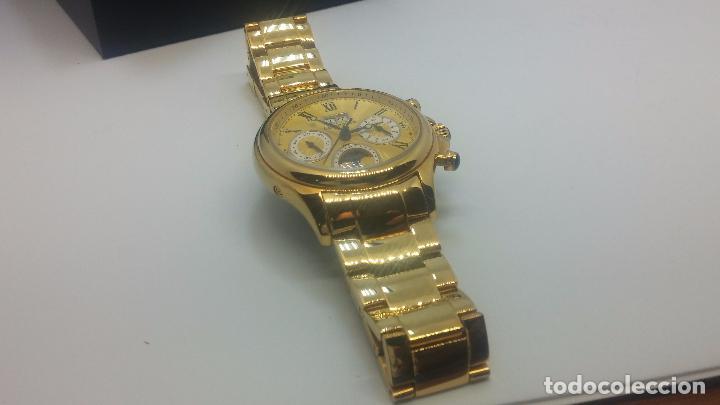 Relojes automáticos: Reloj automatico de caballero Astronomy de Lancoste, seminuevo, dos puestas - Foto 20 - 101950579