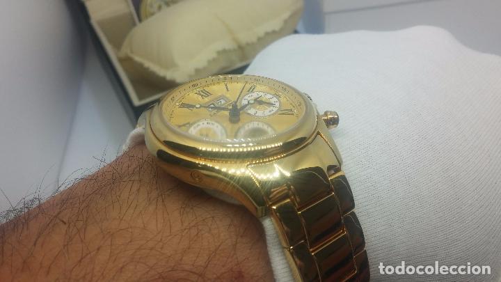 Relojes automáticos: Reloj automatico de caballero Astronomy de Lancoste, seminuevo, dos puestas - Foto 24 - 101950579