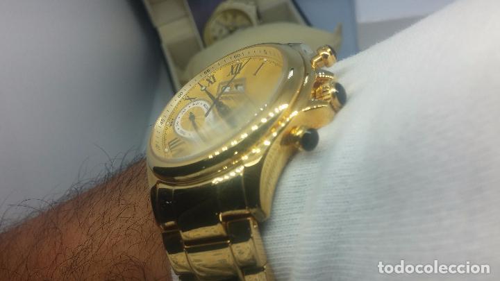 Relojes automáticos: Reloj automatico de caballero Astronomy de Lancoste, seminuevo, dos puestas - Foto 26 - 101950579