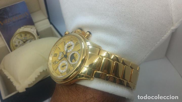 Relojes automáticos: Reloj automatico de caballero Astronomy de Lancoste, seminuevo, dos puestas - Foto 35 - 101950579