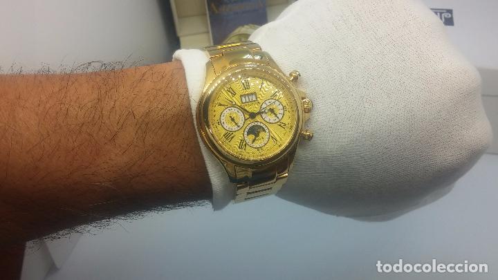Relojes automáticos: Reloj automatico de caballero Astronomy de Lancoste, seminuevo, dos puestas - Foto 42 - 101950579