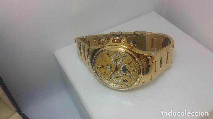 Relojes automáticos: Reloj automatico de caballero Astronomy de Lancoste, seminuevo, dos puestas - Foto 43 - 101950579