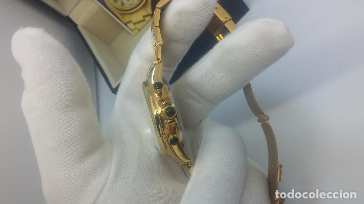 Relojes automáticos: Reloj automatico de caballero Astronomy de Lancoste, seminuevo, dos puestas - Foto 46 - 101950579