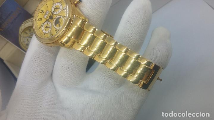 Relojes automáticos: Reloj automatico de caballero Astronomy de Lancoste, seminuevo, dos puestas - Foto 49 - 101950579