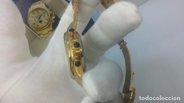 Relojes automáticos: Reloj automatico de caballero Astronomy de Lancoste, seminuevo, dos puestas - Foto 50 - 101950579