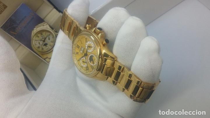 Relojes automáticos: Reloj automatico de caballero Astronomy de Lancoste, seminuevo, dos puestas - Foto 51 - 101950579