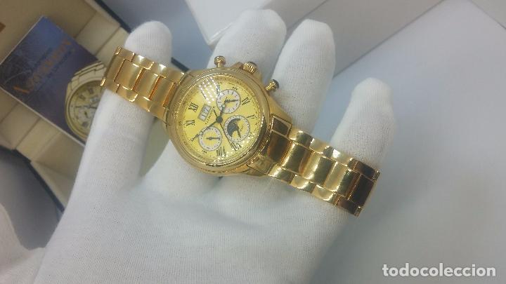 Relojes automáticos: Reloj automatico de caballero Astronomy de Lancoste, seminuevo, dos puestas - Foto 52 - 101950579