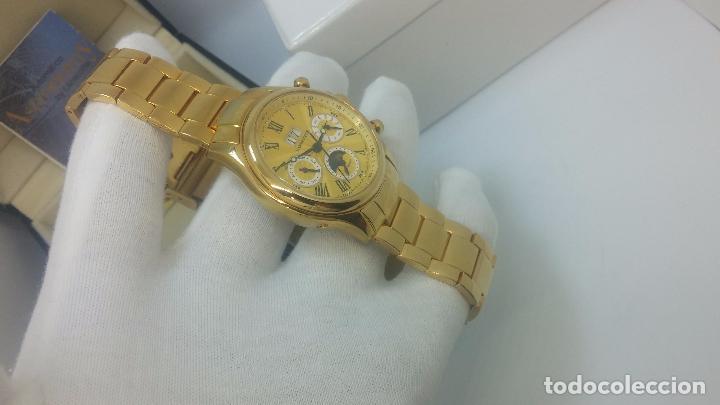 Relojes automáticos: Reloj automatico de caballero Astronomy de Lancoste, seminuevo, dos puestas - Foto 53 - 101950579