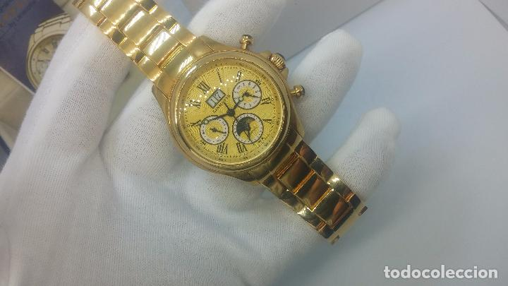 Relojes automáticos: Reloj automatico de caballero Astronomy de Lancoste, seminuevo, dos puestas - Foto 54 - 101950579