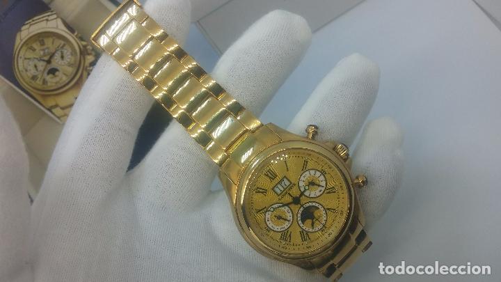 Relojes automáticos: Reloj automatico de caballero Astronomy de Lancoste, seminuevo, dos puestas - Foto 55 - 101950579