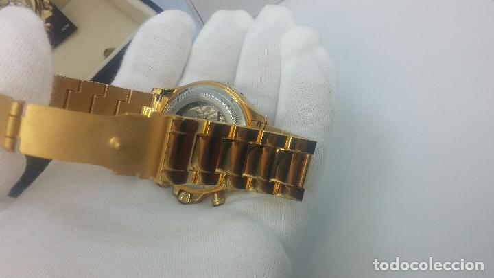 Relojes automáticos: Reloj automatico de caballero Astronomy de Lancoste, seminuevo, dos puestas - Foto 56 - 101950579