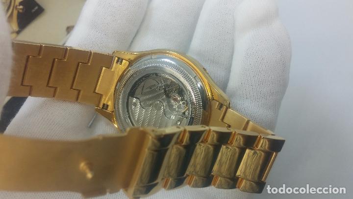 Relojes automáticos: Reloj automatico de caballero Astronomy de Lancoste, seminuevo, dos puestas - Foto 57 - 101950579