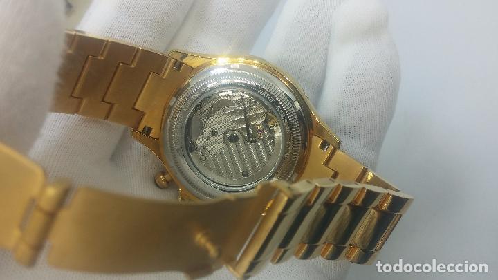 Relojes automáticos: Reloj automatico de caballero Astronomy de Lancoste, seminuevo, dos puestas - Foto 58 - 101950579