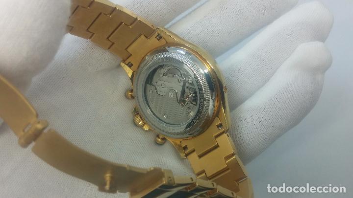 Relojes automáticos: Reloj automatico de caballero Astronomy de Lancoste, seminuevo, dos puestas - Foto 60 - 101950579