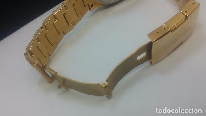 Relojes automáticos: Reloj automatico de caballero Astronomy de Lancoste, seminuevo, dos puestas - Foto 61 - 101950579